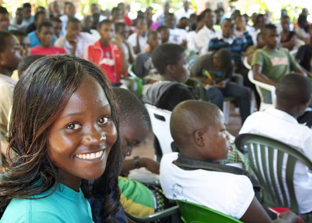 160 Determined to Develop Students Attend Youth Leadership Workshop 2