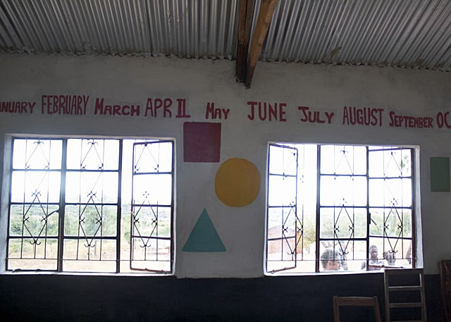 Determined to Develop Completes Phulano Nursery School 2