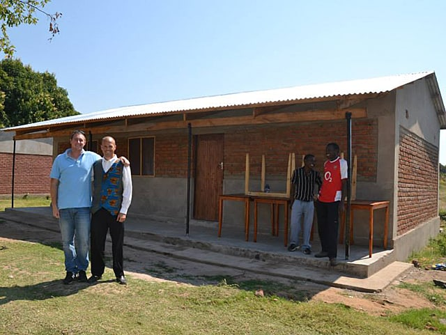Determined to Develop New Library at Thunduti Community Secondary School 2