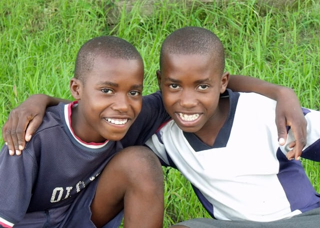 Meet Determined to Develop sponsored youth & identical twins, Wongani & Waliko
