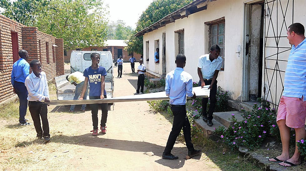 Determined to Develop provides materials to local schools in Malawi
